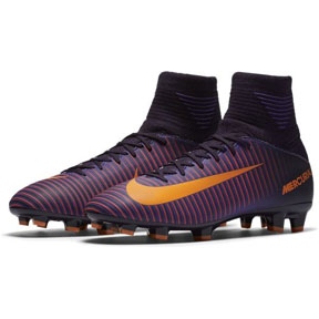 Nike Youth Mercurial Superfly V FG (Purple Dynasty/Citrus)