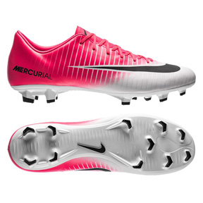 Nike Mercurial Victory  VI FG Soccer Shoes (Racer Pink/White)