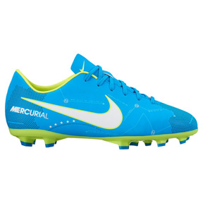 Nike Youth  Neymar  Mercurial Victory VI FG Soccer Shoes (Blue Orbit)