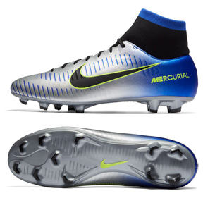 Nike Youth Neymar Mercurial Victory VI DF FG Shoes (Chrome)