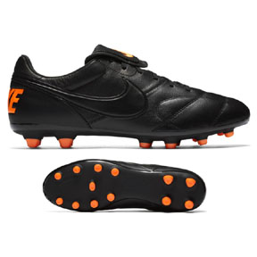 Nike  Premier  II FG Soccer Shoes (Black/Total Orange)