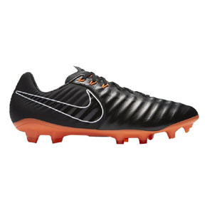 Nike Tiempo Legend 7 Pro FG Soccer Shoes (Black/Orange)