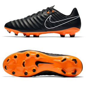 0d1e83df2d4 Nike Tiempo Legend 7 Academy FG Soccer Shoes (Black Orange ...