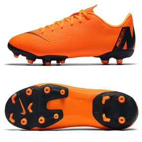 Nike Youth Mercurial Vapor XII Academy MG Soccer Shoes (Orange)