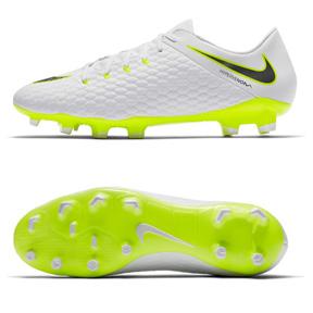 1893cfc5f7e Nike HyperVenom Phantom III Academy FG Soccer Shoes (White Volt ...