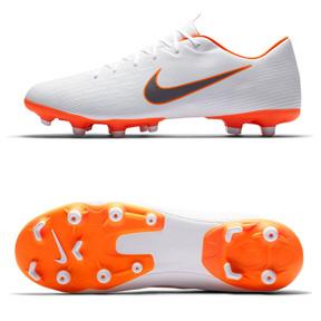 cca40b742 Nike Mercurial Vapor XII Academy MG Soccer Shoes (White Orange ...
