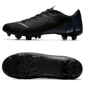 00baaf63e82 Nike Mercurial Vapor XII Academy MG Soccer Shoes (Black ...
