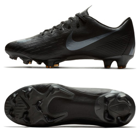 Nike Mercurial Vapor XII  Pro FG Soccer Shoes (Black)