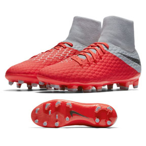 Nike  HyperVenom Phantom  III Academy DF FG (Light Crimson)