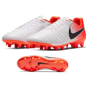 Nike Tiempo Legend 7 Academy FG Soccer Shoes (White/Crimson)