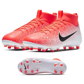 Nike Youth  Superfly 6 Academy MG Soccer Shoes (Hyper Crimson)
