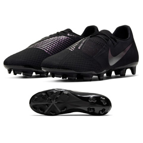 Nike  Phantom Venom Academy FG Soccer Shoes (Black/Black)