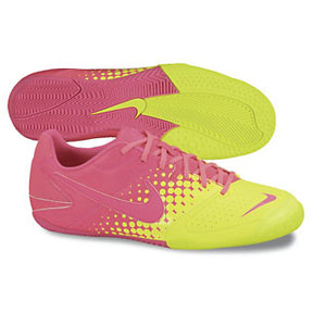 Nike NIKE5 Elastico Indoor Soccer Shoes (Pink Flash/Volt)