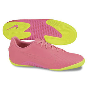 Nike NIKE5 Elastico Finale Indoor Soccer Shoes (Pink Flash/Volt)