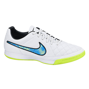 Nike Tiempo Legacy IC Indoor Soccer Shoes (White Pack)