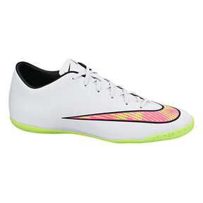 Nike Mercurial Victory V IC Indoor Soccer Shoes (White Pack)