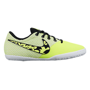 Nike Youth Elastico Pro III Indoor Soccer Shoes (Volt/White)