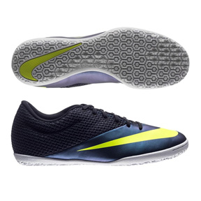 Nike MercurialX Pro Indoor Soccer Shoes (Squadron Blue)