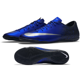 Nike CR7 Ronaldo Mercurial Victory V IC Indoor Soccer Shoes (Royal)