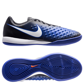 Nike Youth Magista Opus II IC Indoor Soccer Shoes (Paramount Blue)