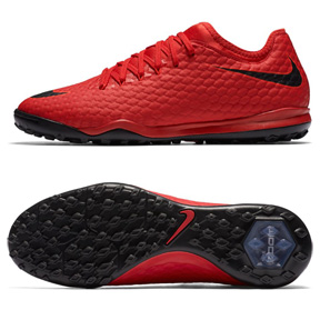 Nike HypervenomX Finale II Turf Soccer Shoes (Crimson/Black)