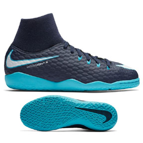 Nike Youth HypervenomX Phelon III DF Indoor Shoes (Gamma)