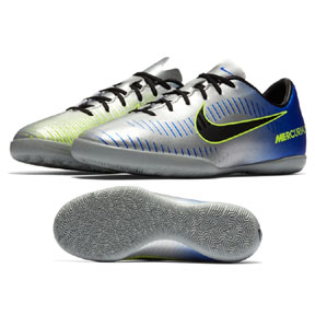 Nike Youth Neymar Mercurial Victory VI Indoor Shoes (Chrome)