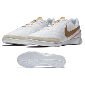 Nike TiempoX Legend 7 Academy Ronaldinho #10 Indoor Shoes (White)