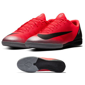 Nike CR7 MercurialX Vapor XII Academy Indoor Shoes (Red)