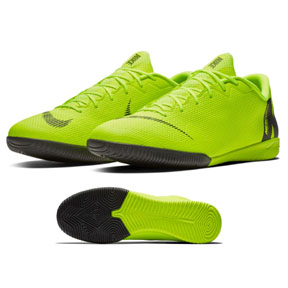 Nike Mercurial Vapor XII Academy Indoor Soccer Shoes (Volt)
