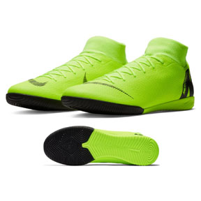 Nike  MercurialX Superfly 6 Academy Indoor Soccer Shoes (Volt)
