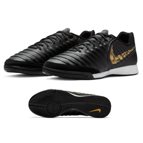 Nike  Tiempo LegendX 7 Academy Indoor Soccer Shoes (Black/Gold)