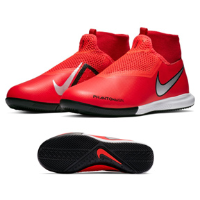 Nike Youth  Phantom Vision Academy DF Indoor Shoes (Crimson)
