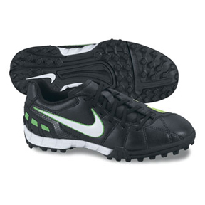 Nike Youth Total 90 Shoot III Turf Soccer Shoes (Black/White)