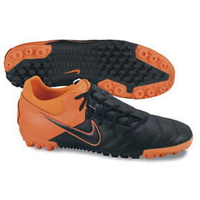 Nike NIKE5 Bomba Pro Turf Soccer Shoes (Black/Orange)