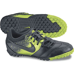 Nike Youth NIKE5 Bomba Turf Soccer Shoes (Grey/Electriclime)
