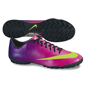 Nike Mercurial Victory IV Turf Soccer Shoes (Fireberry)