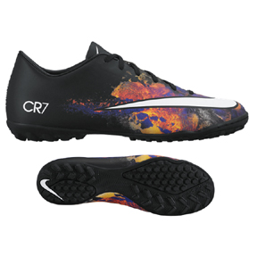 Nike CR7 Ronaldo Mercurial Victory V Turf Soccer Shoes (Savage)
