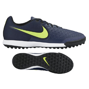 Nike Magista X Pro Turf Soccer Shoes (Midnight Navy/Volt)