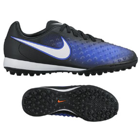 Nike Youth Magista Opus II Turf Soccer Shoes (Paramount Blue)