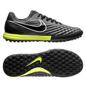Nike MagistaX Finale ll Turf Soccer Shoes (Dark Grey/Volt)