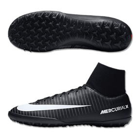 Nike MercurialX Victory  VI DF Turf Soccer Shoes (Pitch Dark Pack)