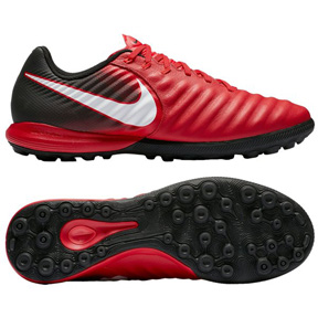 Nike TiempoX Finale Turf Soccer Shoes (Crimson/White)