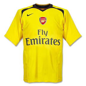 Nike Arsenal Soccer Jersey (Away 06/07)