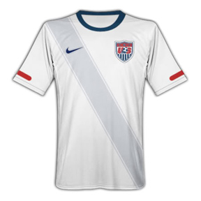 Nike USA Soccer Jersey (Home 10/11)