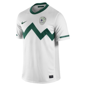 Nike   Slovenia World Cup 2010 Soccer Jersey (Home 2010/11)