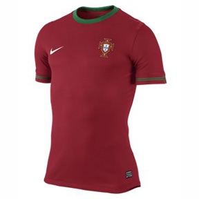 Nike Portugal Authentic Soccer Jersey (Home 12/13)