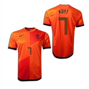 Nike Youth Holland Kuyt #7 Soccer Jersey (Home 12/13)