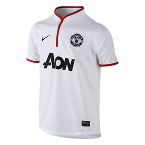 Nike Youth Manchester United Soccer Jersey (Away 12/13)