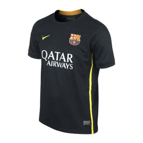 Nike Youth Barcelona Soccer Jersey (Alternate 13/14)